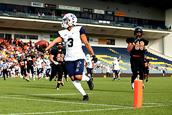Match action from the BAFA Britbowl National League Finals 2017 - Mandatory by-line: Robbie Stephenson/JMP - 26/08/2017 - AMERICAN FOOTBALL - Sixways Stadium - Worcester, England - Tamworth Phoenix v London Blitz - BAFA Britbowl National League Finals 2017