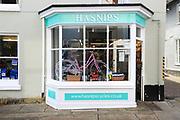 Hasnip's bicycle shop, Woodbridge, Suffolk, England, UK