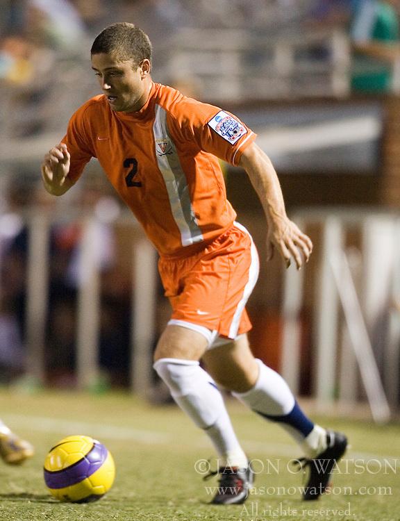 The #4 ranked Virginia Cavaliers men's soccer team faced the Mount Saint Mary's Mountaineers at Klockner Stadium in Charlottesville, VA on September 25, 2007.