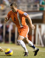 The #4 ranked Virginia Cavaliers men's soccer team faced the Mount Saint Mary's Mountaineers at Klockner Stadium in Charlottesville, VA on September 25, 2007.
