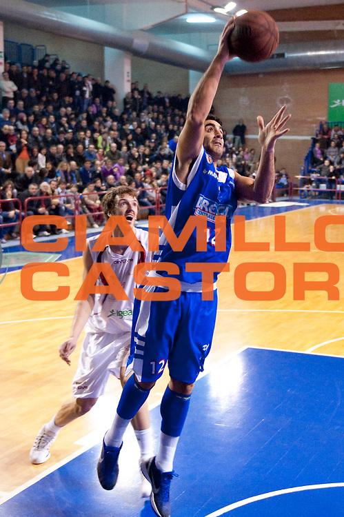 DESCRIZIONE : S.Antimo Lega Basket A2 2011-12 Pall. S.Antimo Centrale del Latte Brescia<br /> GIOCATORE : Mario Ghersetti<br /> CATEGORIA : appoggio a canestro<br /> SQUADRA : Centrale del Latte Brescia<br /> EVENTO : Campionato Lega A2 2011-2012 <br /> GARA : Pall. S.Antimo Centrale del Latte Brescia <br /> DATA : 22/01/2012<br /> SPORT : Pallacanestro  <br /> AUTORE : Agenzia Ciamillo-Castoria/G.Buco<br /> Galleria : Lega Basket A2 2011-2012  <br /> Fotonotizia : S.Antimo Lega Basket A2 2011-12 Pall. S.Antimo Centrale del Latte Brescia<br /> Predefinita :