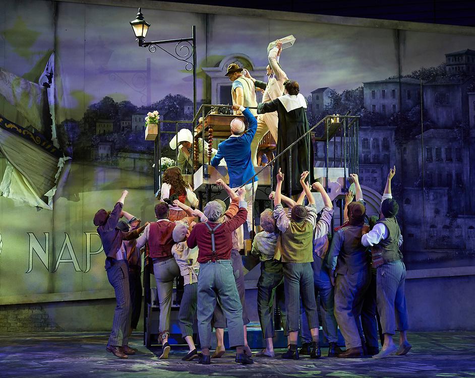 23nd June 2017.Il Turco in Italia, Rossini  at Garsignton Opera. <br /> <br /> Zaidi - Katie Bray<br /> Albazar Jack Swanson<br /> Prosdocimo - Mark Stone<br /> Don Geronio - Geoffrey Dolton<br /> Fiorilla - Sarah Tynan<br /> Selim - Quirijn de Lang<br /> Narciso Luciano Betelho.