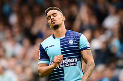 Paris Cowan-Hall of Wycombe Wanderers cuts a dejected figure  - Mandatory by-line: Dougie Allward/JMP - 21/04/2018 - FOOTBALL - Adam's Park - High Wycombe, England - Wycombe Wanderers v Accrington Stanley - Sky Bet League Two