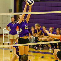 Berryville Volleyball vs. Gravette (10-06-15)