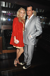 MATTHEW MELLON and NOELLE RENO at a party to celebrate Imogen Lloyd Webber's 30th birthday and the launch of her Single Girl's Guide held at Vilstead, 9 Swallow Street, London on 27th March 2007.<br /><br />NON EXCLUSIVE - WORLD RIGHTS