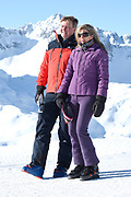 Fotosessie met de koninklijke familie in Lech /// Photoshoot with the Dutch royal family in Lech .<br /> <br /> Op de foto/ On the photo:    Koningin Maxima, Koning Willem Alexander ///// Queen Maxima, King Willem Alexander