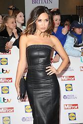 Myleene Klass, Pride of Britain Awards, Grosvenor House Hotel, London UK. 28 September, Photo by Richard Goldschmidt /LNP © London News Pictures