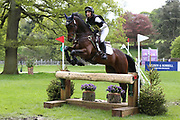 Christopher Whittle on Tregaverne during the International Horse Trials at Chatsworth, Bakewell, United Kingdom on 12 May 2018. Picture by George Franks.