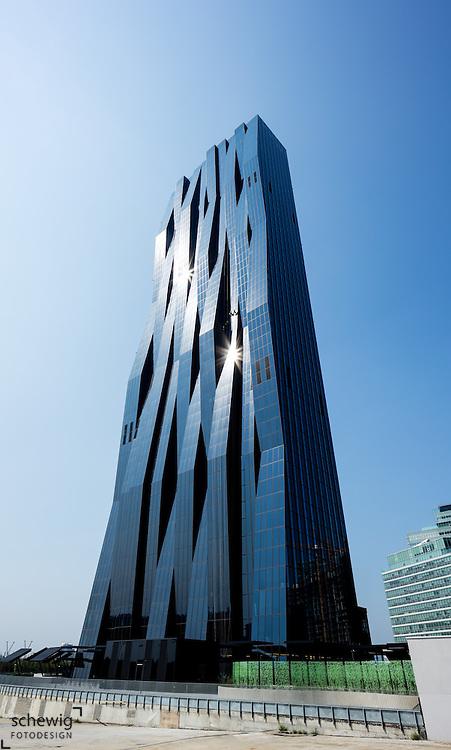 DC Tower 1 (Dominique Perrault), Donaucity, Österreich, Wien, Donaustadt, Kaisermühlen