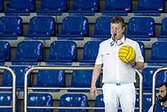 David  - Referee<br /> ITA - ESP Italy (white cap) Vs. Spain (blue cap)<br /> LEN Europa Cup Men 2018 finals<br /> Water Polo, Pallanuoto<br /> Rijeka, CRO Croatia<br /> Day01<br /> Photo &copy; Giorgio Scala/Deepbluemedia/Insidefoto