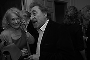 SALLY EMERSON; HOWARD JACOBSON, The launch of Fire Child by Sally Emerson. Hosted by Sally Emerson and Naim Attalah CBE. Dean St. London. 22 March 2017