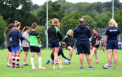 Dr Dave Alred talks to Bristol Ladies - Mandatory by-line: Paul Knight/JMP - 29/07/2017 - RUGBY - Bristol Ladies Rugby pre-season training