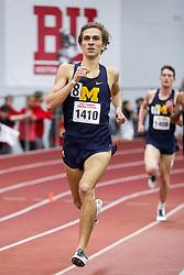 Mile,Michigan<br /> BU Terrier Indoor track meet