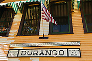 Durango & Silverton Narrow Gauge Railroad depot, Durango, Colorado