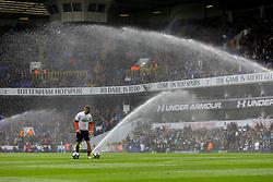 White Hart Lane set off the sprinklers during warmups - Mandatory by-line: Jason Brown/JMP - 15/04/2017 - FOOTBALL - White Hart Lane - London, England - Tottenham Hotspur v AFC Bournemouth - Premier League