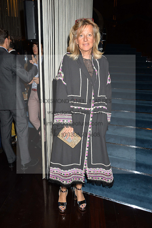 PRINCESS CHANTAL OF HANOVER at a dinner to celebrate the start of The Season held at Rivea, Bulgari Hotel, 171 Kightsbridge, London on 18th May 2016.