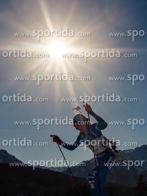 15.02.2017, Biathlonarena, Hochfilzen, AUT, IBU Weltmeisterschaften Biathlon, Hochfilzen 2017, Damen, Einzel, im Bild Lisa Vittozzi (ITA) // Lisa Vittozzi of Italy // during individual women the IBU Biathlon World Championship at the at the Biathlonarena in Hochfilzen, Austria on 2017/02/15. EXPA Pictures © 2017, PhotoCredit: EXPA/ JFK