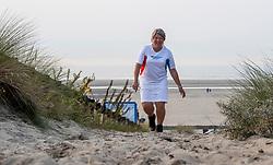 29-08-2017 NED: Nationale Diabetes Challenge, Ouddorp<br /> Diverse gezondheidscentra, huisartsenpraktijken en fysiotherapie praktijken zijn met ondersteuning van de BvdGF gestart met een lokale wandel challenge. De grote finale vindt plaats op 30 september rond Papendal.