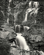 Tangle Falls in Sunwapta Pass
