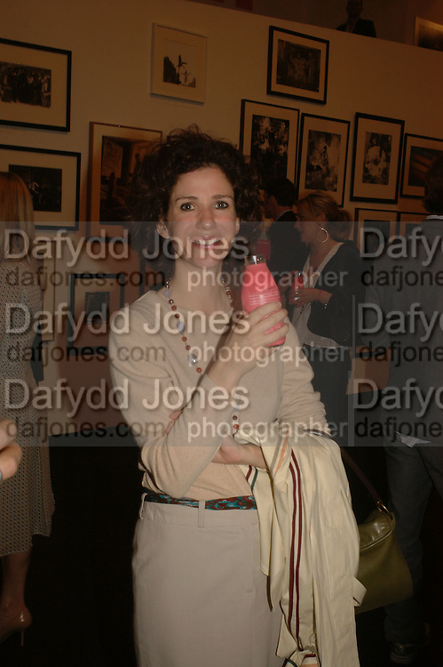 MOLLIE DENT-BROCKLEHURST, Opening of Photo-London, Burlington Gdns. London. 17 May 2006. ONE TIME USE ONLY - DO NOT ARCHIVE  © Copyright Photograph by Dafydd Jones 66 Stockwell Park Rd. London SW9 0DA Tel 020 7733 0108 www.dafjones.com