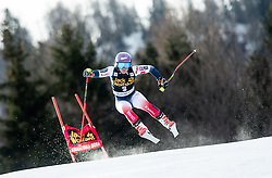 WORLEY Tessa of France competes during the Ladies' GiantSlalom at 56th Golden Fox event at Audi FIS Ski World Cup 2019/20, on February 15, 2020 in Podkoren, Kranjska Gora, Slovenia. Photo by Matic Ritonja / Sportida