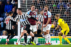 Ciaran Clark of Newcastle United celebrates scoring a goal to make it 2-0 - Mandatory by-line: Robbie Stephenson/JMP - 26/11/2018 - FOOTBALL - Turf Moor - Burnley, England - Burnley v Newcastle United - Premier League