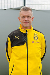 15.07.2015, Dortmund, AUT, 1. FBL, Borussia Dortmund, Fototermin, im Bild Physiotherapeut Peter Kuhnt ( Borussia Dortmund / Portrait ) // during the official Team and Portrait Photoshoot of German Bundesliga Club Borussia Dortmund at the Dortmund, Germany on 2015/07/15. EXPA Pictures &copy; 2015, PhotoCredit: EXPA/ Eibner-Pressefoto/ Thienel<br /> <br /> *****ATTENTION - OUT of GER*****