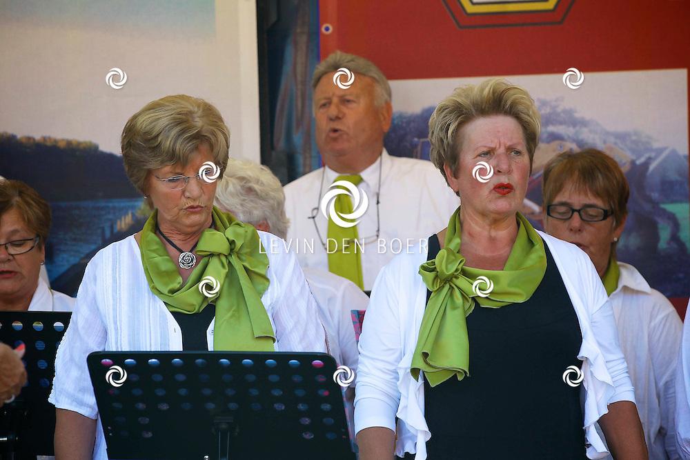 HEDEL - De jaarlijkse Braderie in Hedel is weer druk bezocht. FOTO LEVIN DEN BOER - PERSFOTO.NU