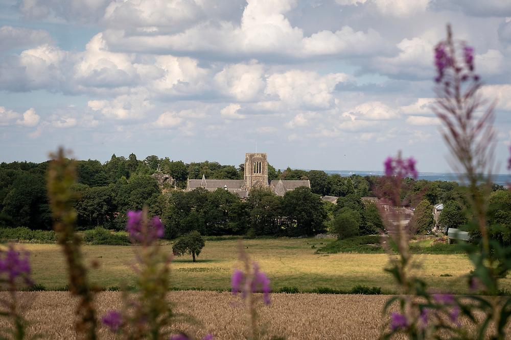 Mount Saint Bernard Abbey, a Roman Catholic, Trappist monastery near Coalville, Leicestershire, England, UK.<br /> Photo: Ed Maynard<br /> 07976 239803<br /> www.edmaynard.com