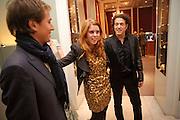 DAVID CLARK; PRINCESS BEATRICE; STEPHEN WEBSTER; Georgina Chapman and Stephen Webster celebrate her guest designer collection for Garrard. Albermarle St. London. 4 November 2009