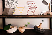 Truss vases (top) and Merging Top vases by THINKK Studio