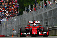 VETTEL sebastian (ger) ferrari sf15t action during the 2015 Formula One World Championship, Grand Prix of Canada from June 05th to 7th 2015,  in Montreal. Photo DPPI.