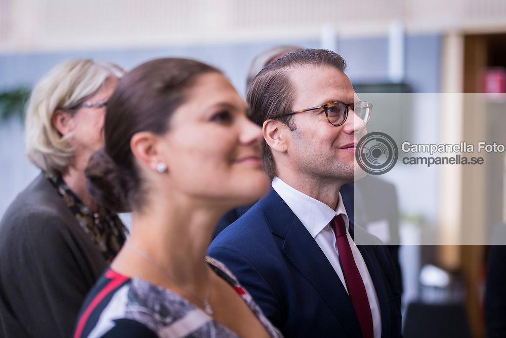 GOTHENBURG, SWEDEN - SEPTEMBER 10:  Prince Daniel Westling of Sweden visits the headquarters of AstraZeneca pharmaceutical on September 10, 2015 in Gothenburg, Sweden. (Photo by Michael Campanella/Getty Images)