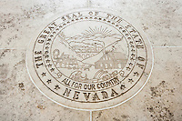 Seal of Nevada in Fort Bonifacio; Manila; Philippines