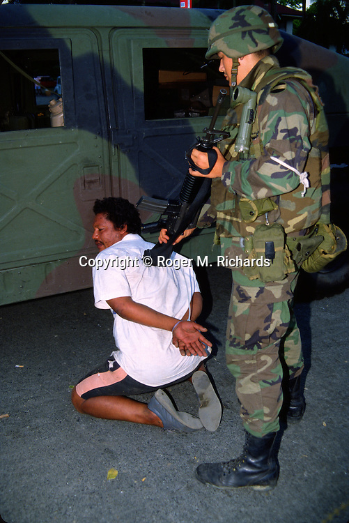 invasion of panama essay In the early morning hours of december 20, 1989, the united states army  spearheaded a carefully planned and well-executed attack that.