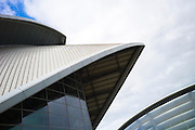 Scottish Exhibition and Conference Centre, SECC  - the armadillo -  Glasgow 2014 Commonwealth Games venue, Scotland, UK