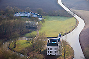 Nederland, Utrecht, Werkhoven, 10-01-2011; .Kasteel Beverweerd in de Kromme Rijn tussen Odijk en Werkhoven (gemeente Bunnik). Castle Beverweerd in the river Kromme Rijn between the villages Odijk and Werkhoven...luchtfoto (toeslag), aerial photo (additional fee required).foto/photo Siebe Swart