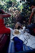 trabalhador rural doente .amazônia..sick rural worker   .Amazonian..
