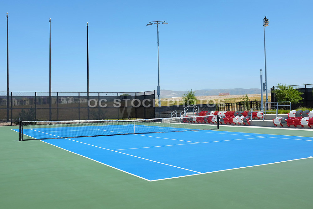 Championship Court at the Great Park Tennis Facility