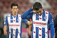 05-02-2017: Voetbal: FC Utrecht v sc Heerenveen: Utrecht<br /> <br /> (L-R) Heerenveen baalt van het 1-0 verlies na afloop van het Eredivisie duel tussen FC Utrecht en SC Heerenveen op 5 februari 2017 in stadion Galgenwaard tijdens speelronde 21<br /> <br /> Eredivisie - Seizoen 2016 / 2017<br /> <br /> Foto: Gertjan Kooij