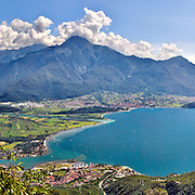 panoramic images of the Como Lake