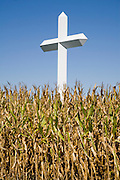 The Cross at the Crossroads in Effingham, Illinois. A 198 foot tall cross at the intersection of Highways 57 and 70.