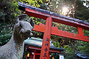 Otoyo-jinja Shrine, listed as a Place of Scenic Beauty, Kyoto