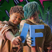 Andrea Imbert and Yanny Tokyo. The video the Power of IF was filmed in a tunnel by Waterloo and was filmed and produced by Armoury London.More than a hundred 16 - 25 yr olds joined a creative paint-fuelled event to express their support for the Enough Food IF campaign. While making the video was a fun and colourful process, the message remains a serious one: global hunger is outrageous and unacceptable.