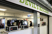 The Devils Kitchen during the EFL Sky Bet League 2 match between Forest Green Rovers and Carlisle United at the New Lawn, Forest Green, United Kingdom on 16 March 2019.
