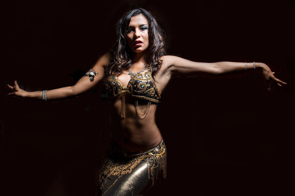 Belly dancer, Istanbul, Turkey, Hodjapasha Culture Center