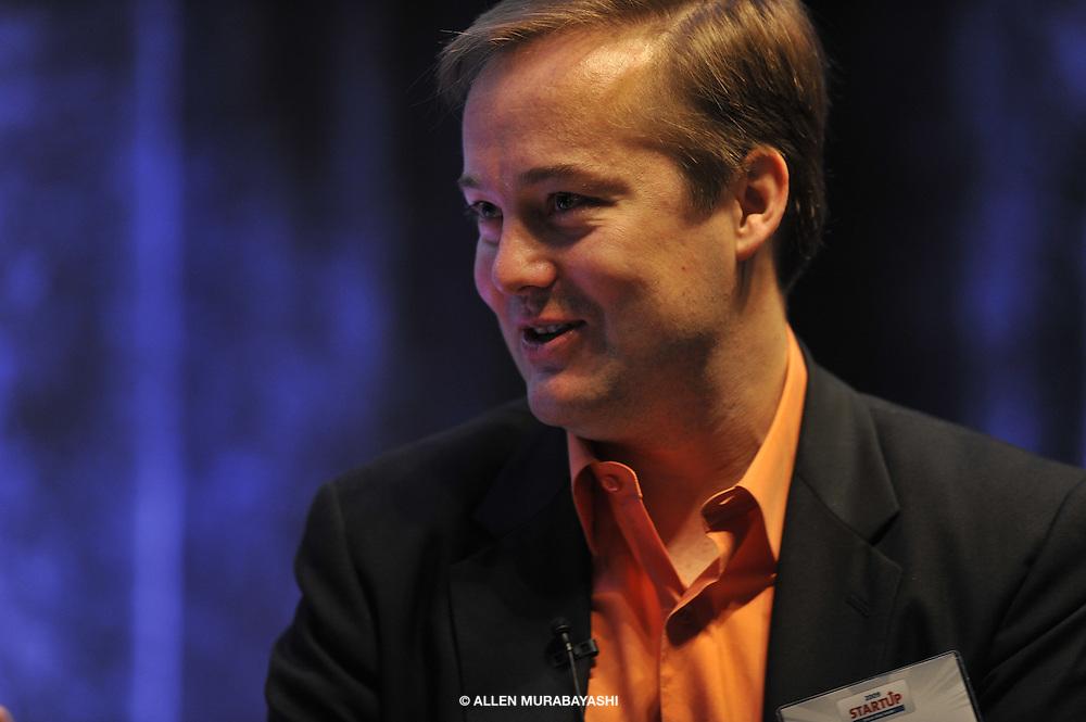 Jason Calcanis speaks at Startup 2009 in Schimmel Auditorium on the campus of NYU. New York, NY on June 3, 2009.
