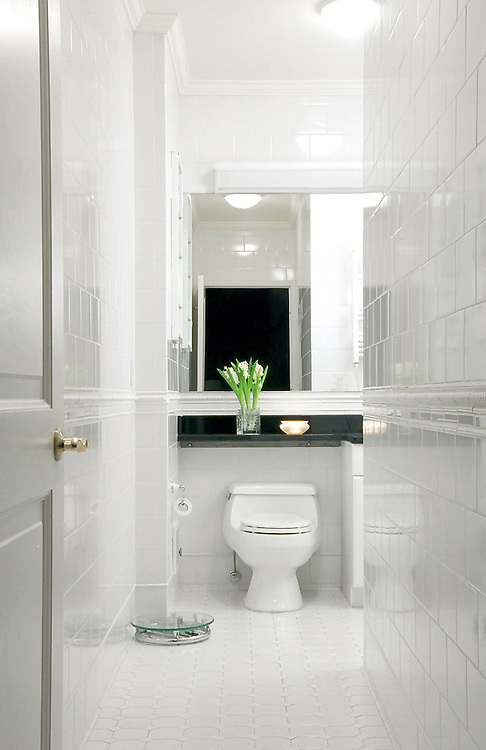 Bathroom, Residence, New York City.