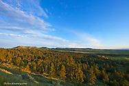 The Chalk Buttes near Ekalaka, Montana, USA