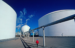 Chemical Plant Operator and storage Tanks
